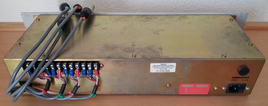 Inovonics 255 rear